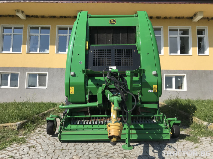 Сламопреси John-Deere 864 MAXI CUT + COVER EDGE ЛИЗИНГ 4