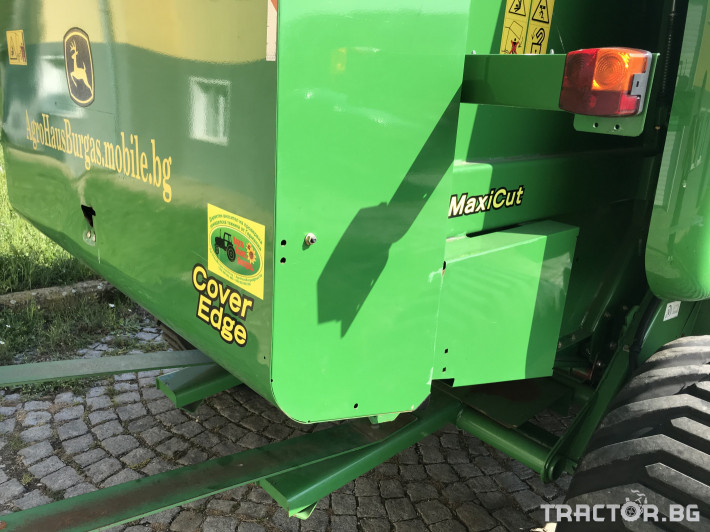 Сламопреси John-Deere 864 MAXI CUT + COVER EDGE ЛИЗИНГ 6 - Трактор БГ