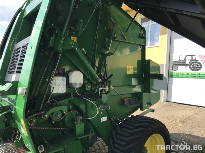 Сламопреси John-Deere 864 MAXI CUT + COVER EDGE ЛИЗИНГ 12 - Трактор БГ