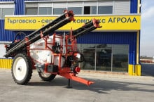 Пръскачка GASPARDO CAMPO 32P A624 V7 R48 SECTION CONTROL - Трактор БГ