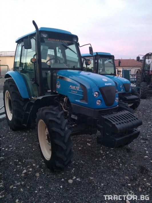 Трактори LS Plus 70 turbo 1