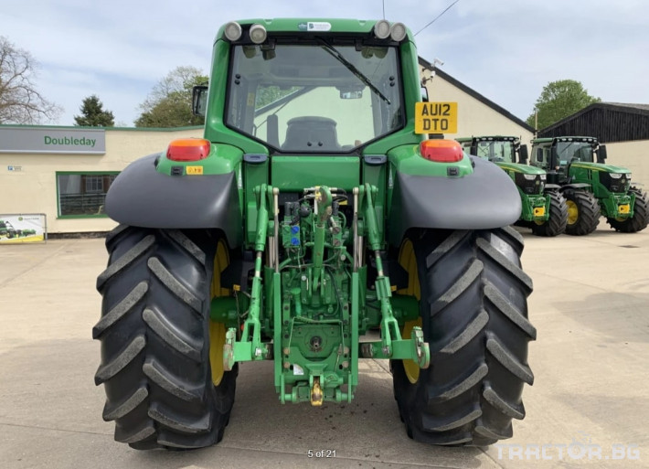 Трактори John-Deere 6830 Premium 3070 МОТОЧАСА! 4 - Трактор БГ