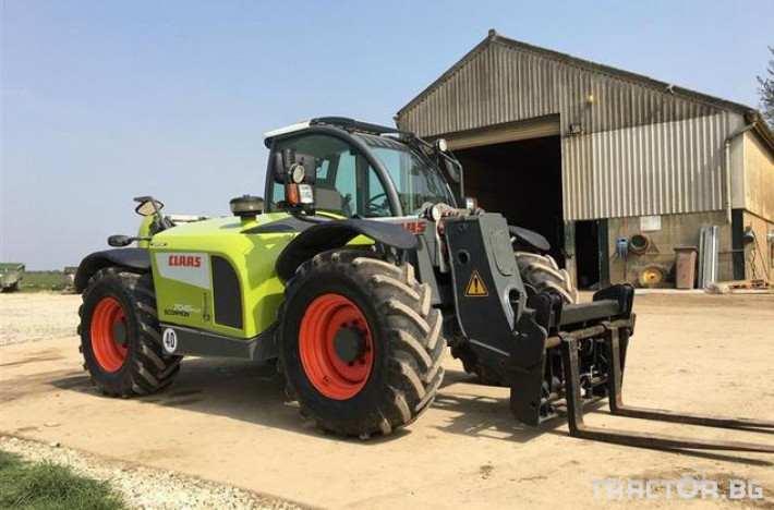 Телескопични товарачи CLAAS SCORPION 7045 0 - Трактор БГ