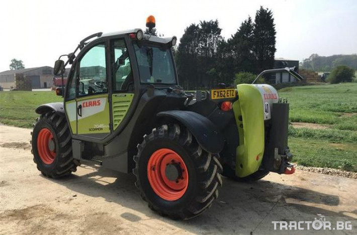 Телескопични товарачи CLAAS SCORPION 7045 3 - Трактор БГ