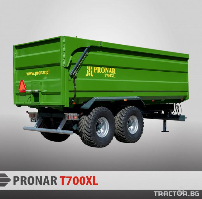 Ремаркета и цистерни Pronar T700XL 0 - Трактор БГ