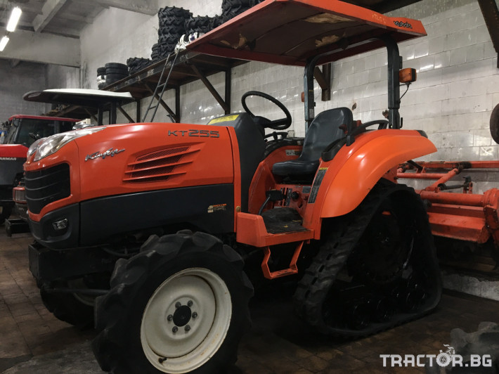 Трактори Kubota KT255 0 - Трактор БГ