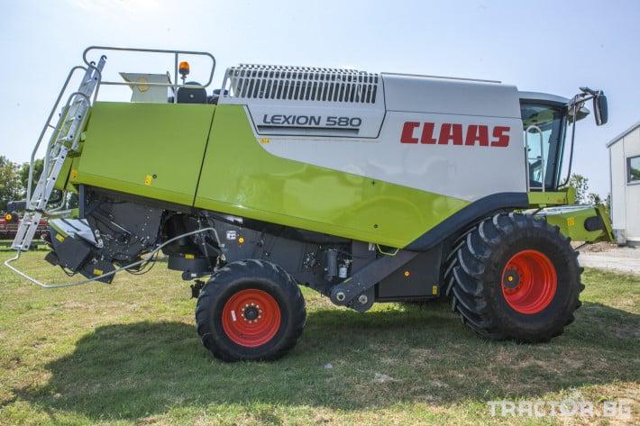 Комбайни Claas Lexion 580 3