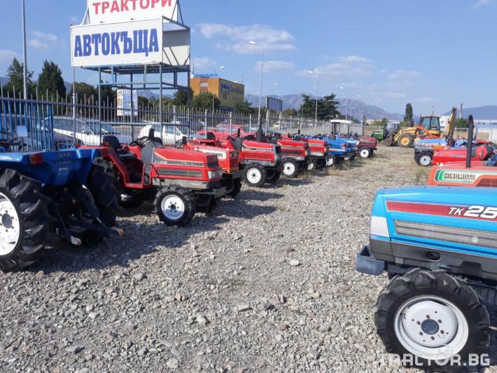 Трактори Hinomoto C144 7 - Трактор БГ