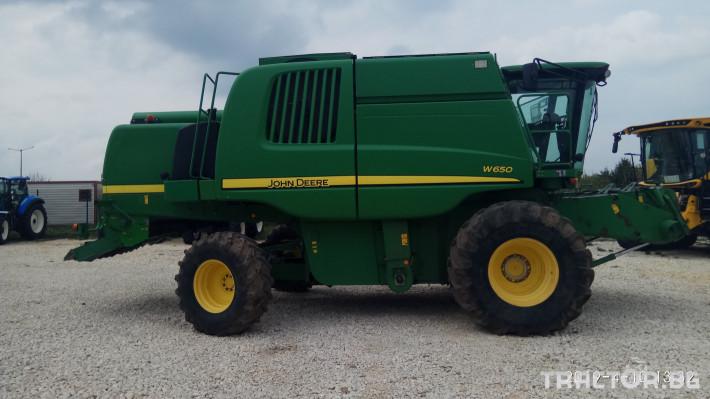 Комбайни John-Deere W650 2 - Трактор БГ