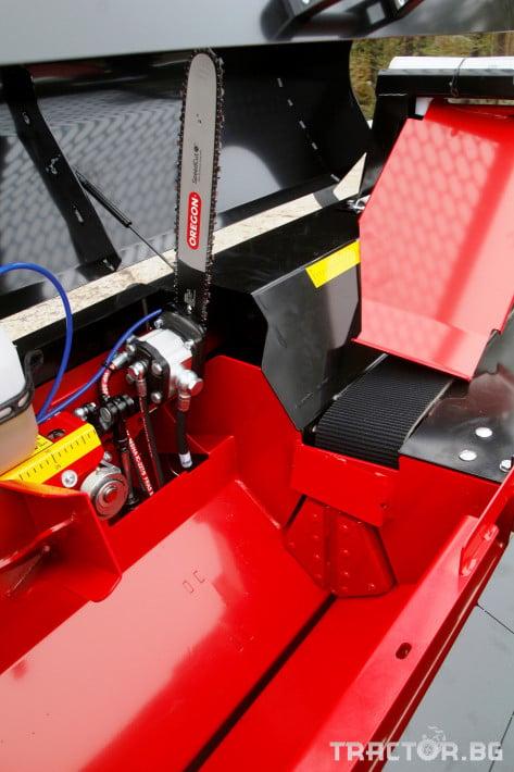 Машини за дърводобив JAPA 365 PRO мобилна машина за рязане и цепене на дърва 1