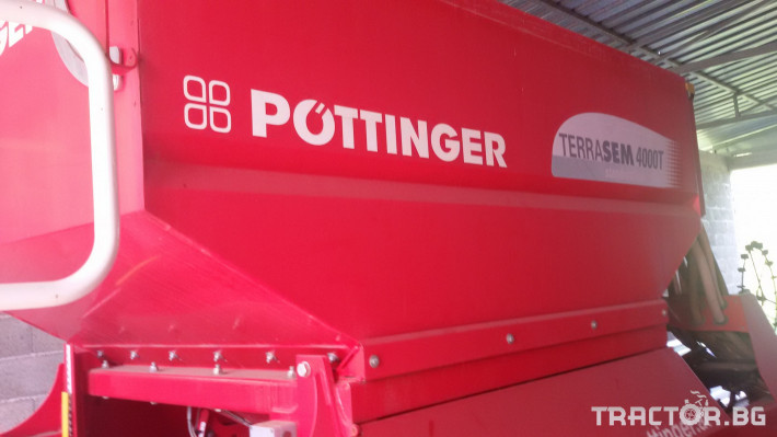 Сеялки Pottinger Terrasem 4000Т 12