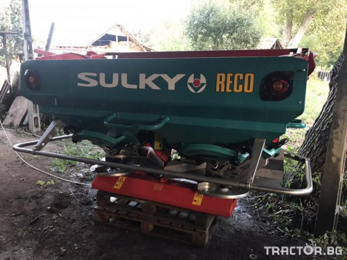 Торачки Sulky X36 с кантар 12 - Трактор БГ