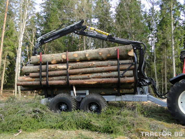 Машини за дърводобив HYPRO HV14 3 - Трактор БГ