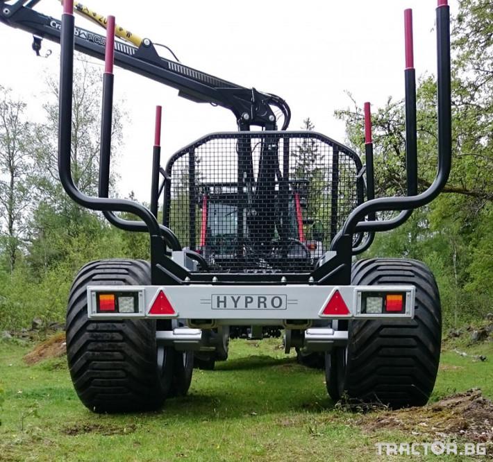 Машини за дърводобив HYPRO HV14 10 - Трактор БГ