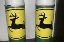 Оригинална висококачествена боя John Deere зелена,  Акрилна бързосъхнеща (15мин.)