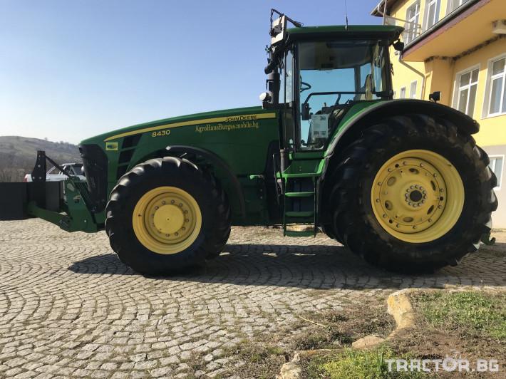 Трактори John-Deere 8430 ILS ОБСЛУЖЕН СОБСТВЕН ЛИЗИНГ 4 - Трактор БГ