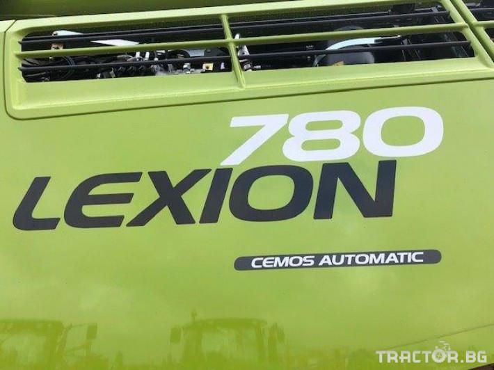 Комбайни Claas Lexion 780 TT 3 - Трактор БГ