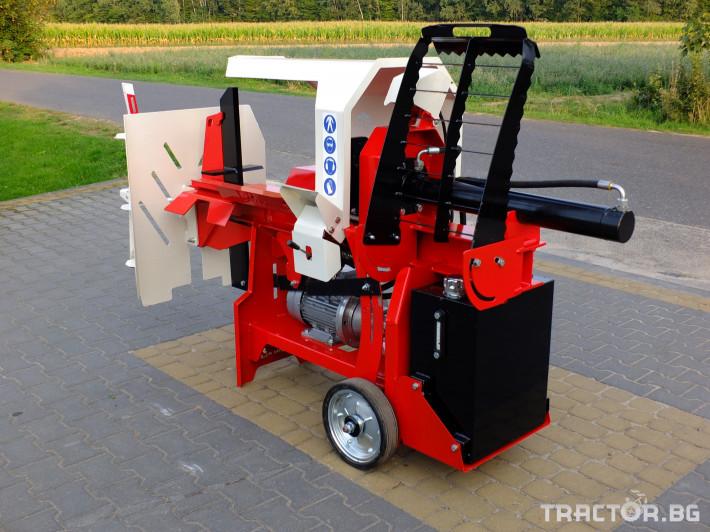 Машини за дърводобив Професионални Електрически цепачки за дърва. 1 - Трактор БГ