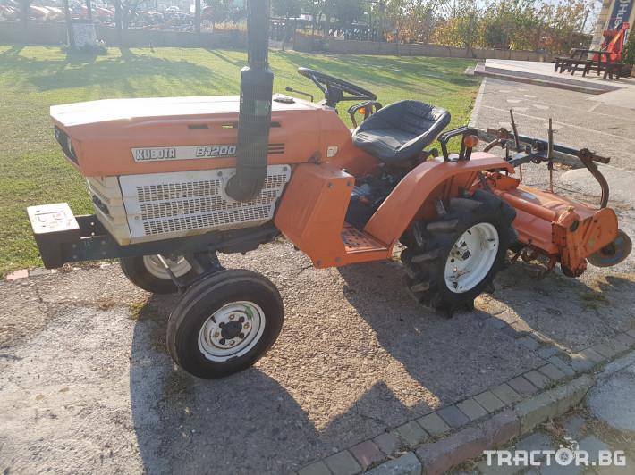 Трактори Kubota Б1200 2 - Трактор БГ