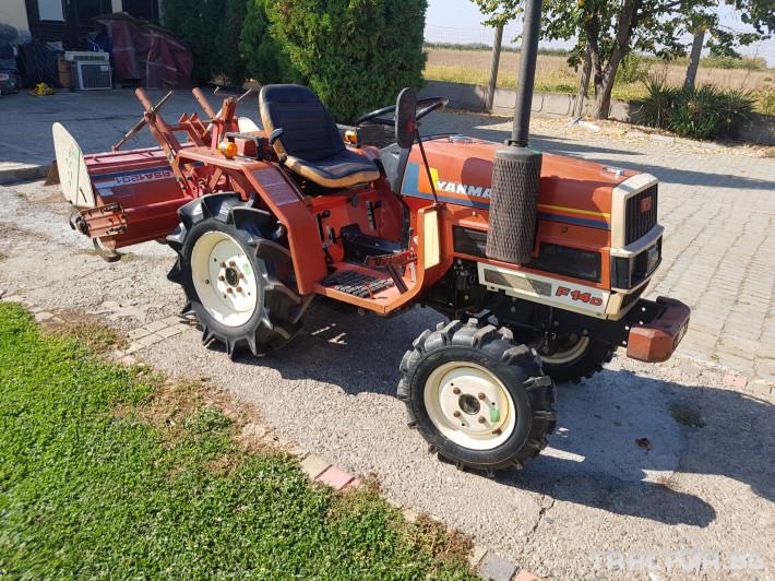 Трактори Yanmar Ф14 2 - Трактор БГ