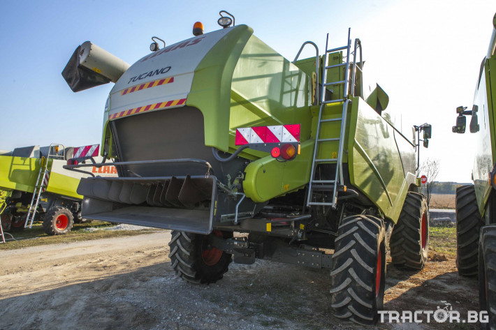 Комбайни Claas Tucano 450 12 - Трактор БГ