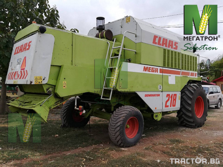 Комбайни CASE-IH MEGA 218 7 - Трактор БГ
