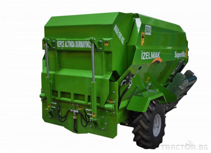 Машини за ферми Малки миксери - 2 м.3 до 25 м.3 АЛПЛЕР 21 - Трактор БГ