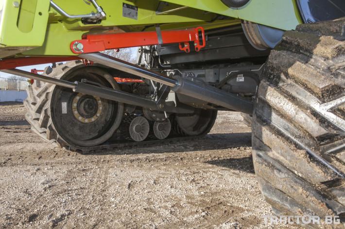 Комбайни Claas 780 Terra Trac 5 - Трактор БГ