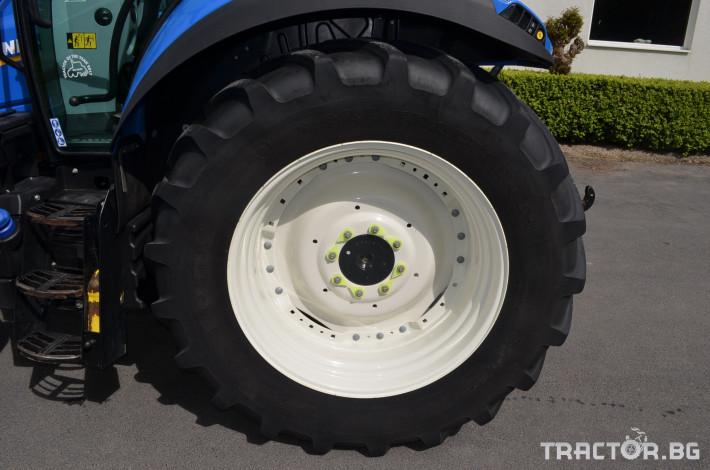 Трактори New-Holland T5.120 Electrocommand 8 - Трактор БГ
