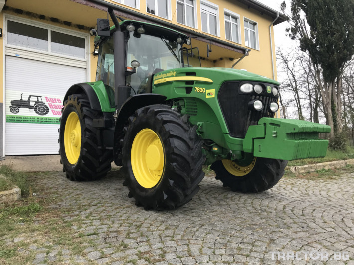 Трактори John-Deere 7830 POWER QUAD ЛИЗИНГ 0