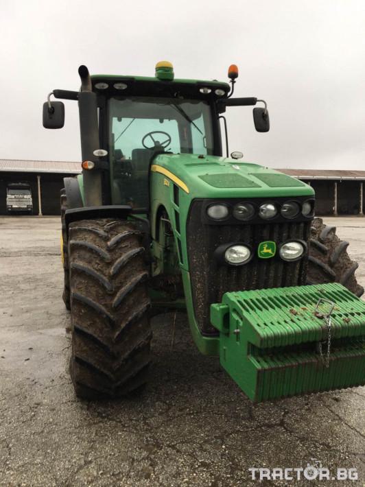Трактори John-Deere R8320 1 - Трактор БГ