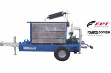 Внос Моторна помпа,  Q@240м3/h  P@6,9 bar модел IR 120-10/FL, произведена в Италия - Трактор БГ