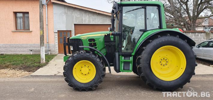 Трактори John-Deere 6330 ФАДРОМА 16 - Трактор БГ