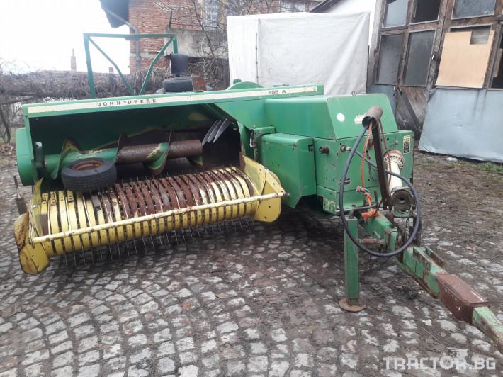 Сламопреси John-Deere 456A 0 - Трактор БГ