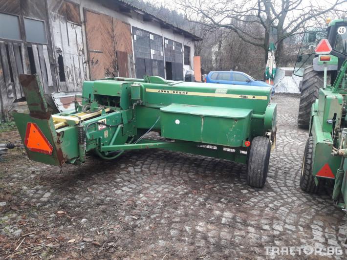 Сламопреси John-Deere 456A 3 - Трактор БГ