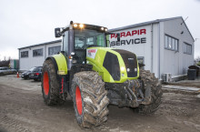Claas Axion 850 - Трактор БГ