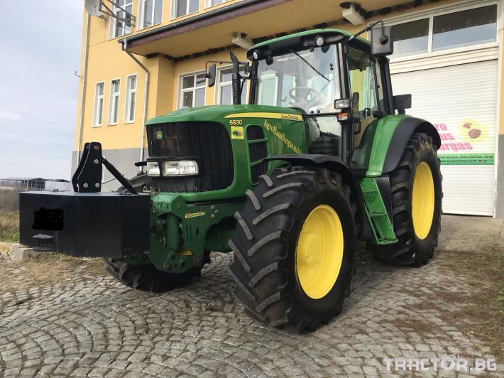 Трактори John-Deere 6830 POWER QUAD PLUS ЛИЗИНГ 3 - Трактор БГ