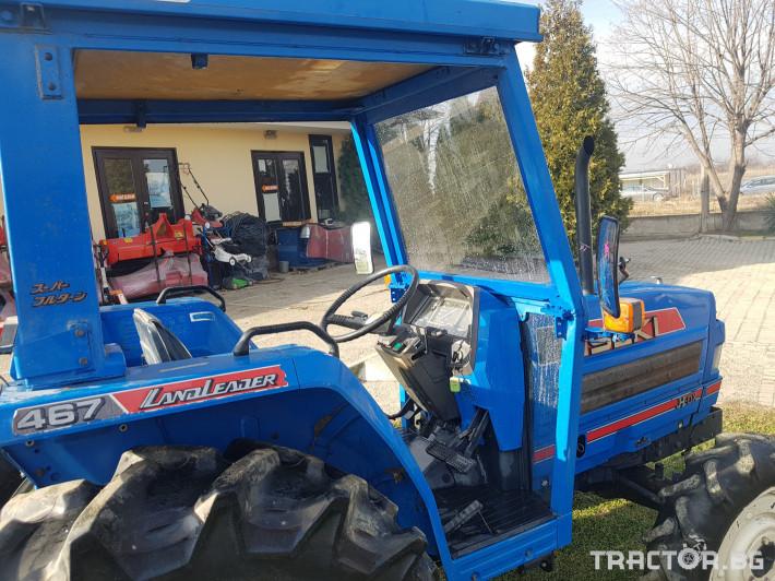 Трактори Iseki TA 467 6 - Трактор БГ