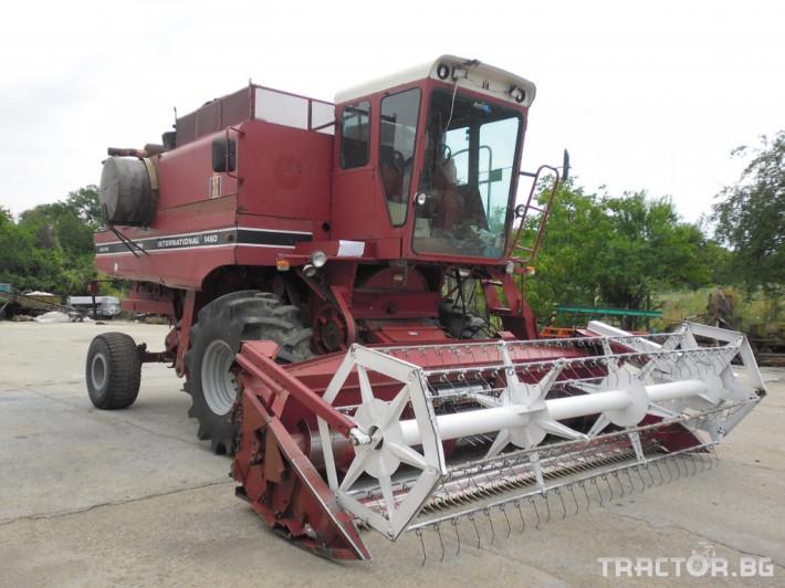 Комбайни CASE-IH International 1460 0 - Трактор БГ