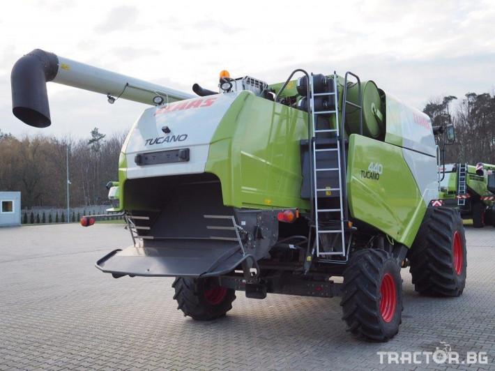 Комбайни Claas Tucano 440 19 - Трактор БГ