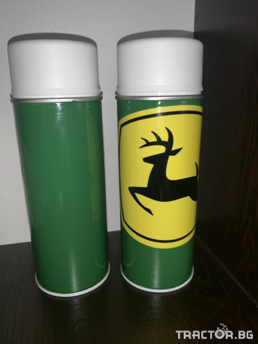 Части за инвентар Оригинална висококачествена боя John Deere зелена,  Акрилна бързосъхнеща (15мин.) 2 - Трактор БГ