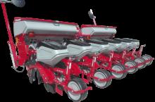 IrTem Пневматична сеялка 6 реда с торовнасяне - Трактор БГ