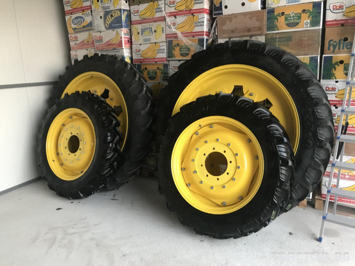 Гуми за трактори Тесни гуми и джанти за John-Deere 0 - Трактор БГ