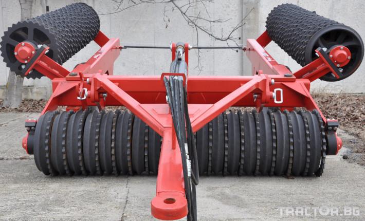 Валяци Дисков валяк , 6 м. 0 - Трактор БГ
