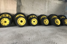 Тънки гуми с джанти - Трактор БГ