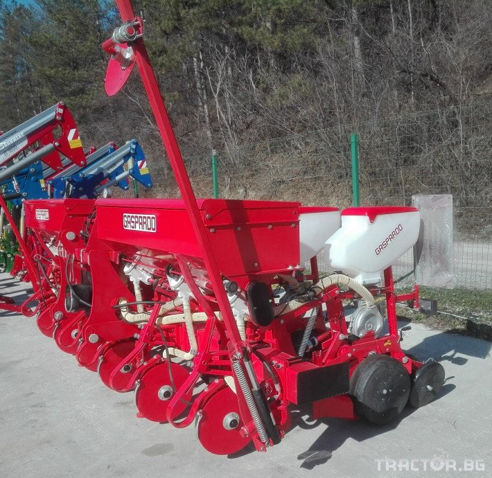 Сеялки Gaspardo MT 6 пролетна, дискова сеялка 1 - Трактор БГ