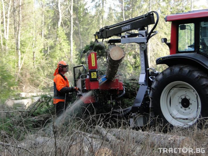 Машини за дърводобив HYPRO 450 XL - процесор за кастрене и разкрой 9 - Трактор БГ
