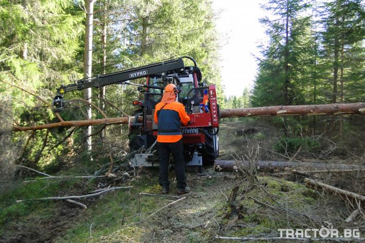 Машини за дърводобив HYPRO 450 XL - процесор за кастрене и разкрой 12 - Трактор БГ