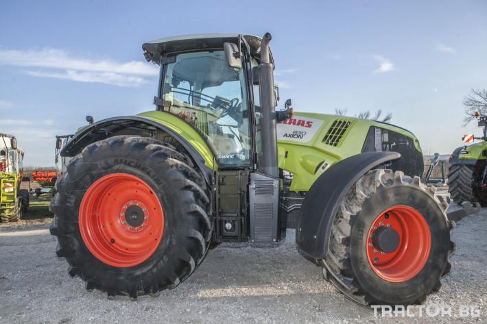 Трактори Claas Axion 830 8 - Трактор БГ