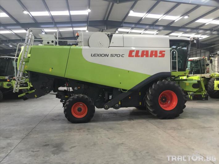 Комбайни Claas LEXION 570 C 5 - Трактор БГ